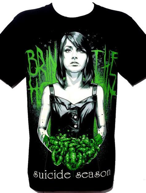 Bring Me The Horizon Tees bring me the horizon metal rock band graphic par