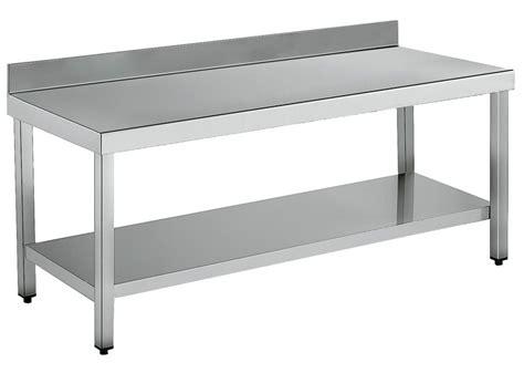 mesas de acero inoxidable para cocina lo que debes saber sobre las mesas de trabajo de acero
