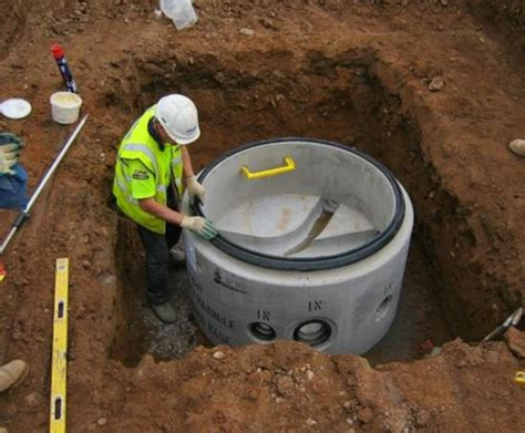 manhole benching perfect manhole system cpm group esi external works