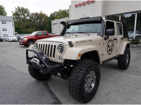 Jeep Used Nj Jeep Wrangler Unlimited Rubicon Used Cars In New Jersey