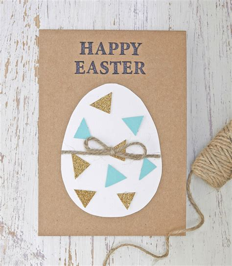 easy cards to make how to make an easy easter egg card hobbycraft