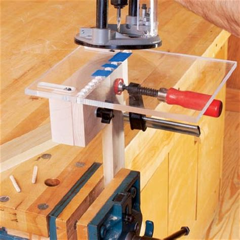 build diy wood threading router jig plans wooden full size
