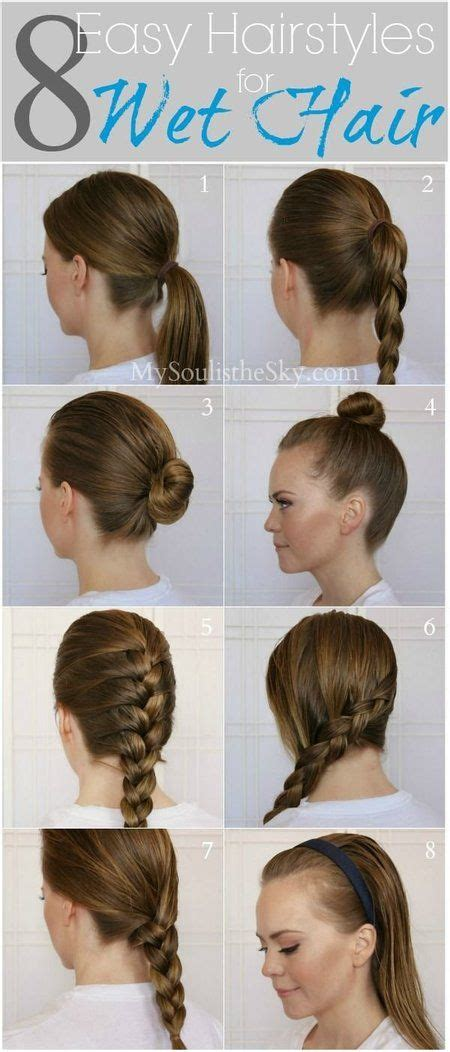hairstyles for bed wiki how cute wet hairstyles immodell net