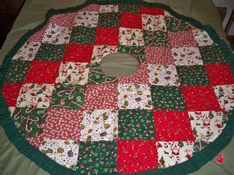 Patchwork Tree Skirt - patchwork tree skirt 28 images quilted tree skirt
