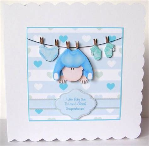 baby boy cards to make there s nothing as sweet new baby boy step by step card