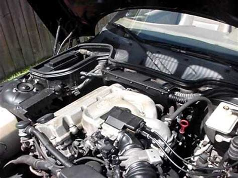 how to replace 1997 bmw z3 enginge variable solenoid broke 1997 bmw z3 1 9l walkaround engine start youtube
