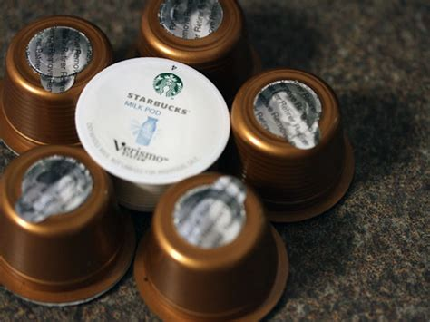 In Pod Veritas: We Try Starbucks' New Verismo Single Cup System   Serious Eats
