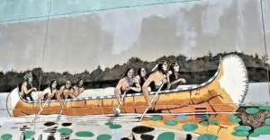 types of native american boats the people s paths resource learn about north american
