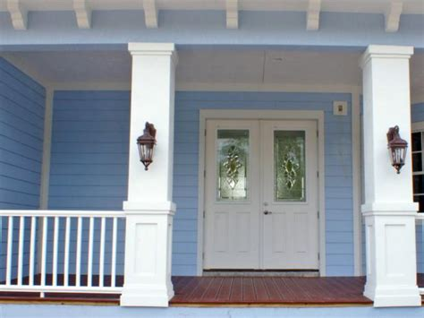 front porch banisters how to install a porch railing hgtv