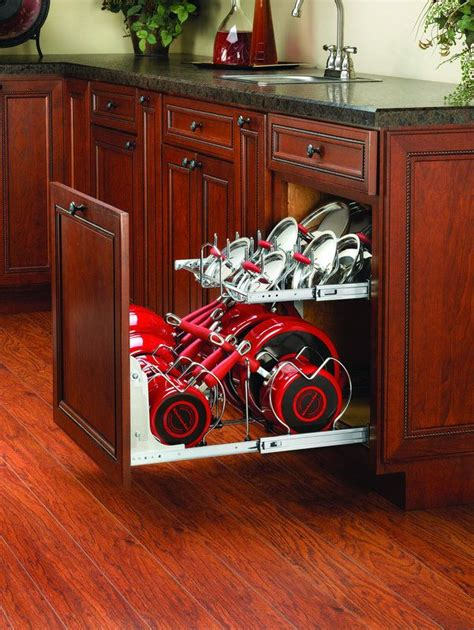 kitchen cabinet organizers for pots and pans 17 best images about rev a shelf for jaime on pinterest