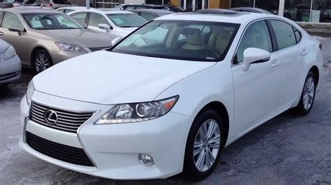 white lexus 2013 lexus certified pre owned white 2013 es 350 leather and