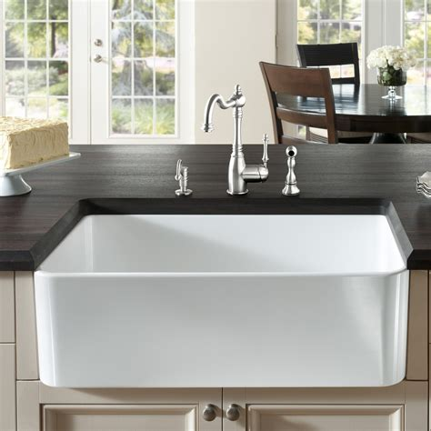 Front Apron Kitchen Sinks Top 10 Modern Apron Front Sinks