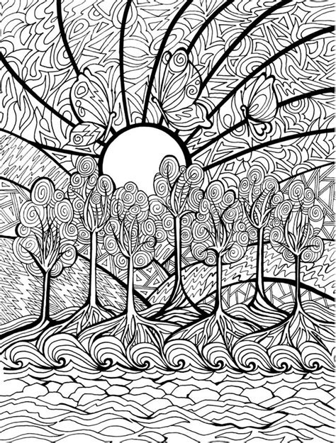 Hard Coloring Pages Pinterest | hard coloring pages difficult coloring pages color