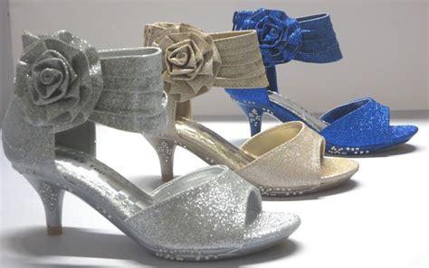toddler high heels dress shoes pageant heels s 5 toddler flower
