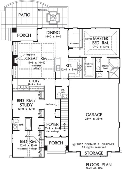 donald a gardner floor plans the beauxville house plan images see photos of don
