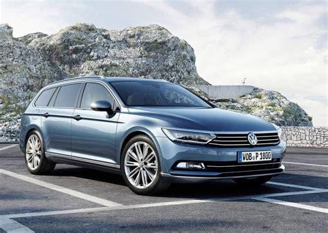new volkswagen vw unveils new look euro spec 2015 passat autoevolution