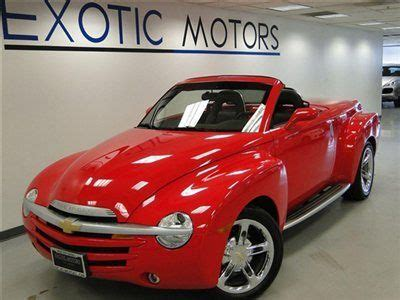 auto body repair training 2005 chevrolet ssr navigation system buy used 2005 chevrolet ssr pickup convertible pioneer nav heated sts 32k miles 19 in rolling