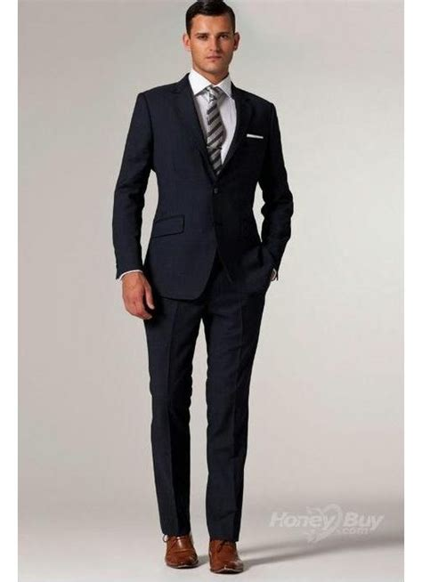 best suits midnight blue suit wedding inspiration