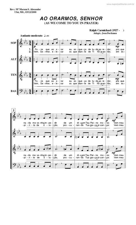 A Place Ralph Carmichael Lyrics Partituras Ao Orarmos Senhor Ralph Richard Carmichael Sem Cifra