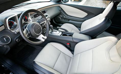2010 Chevy Camaro Interior by Car And Driver