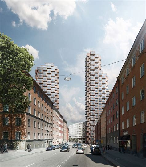 designboom stockholm oma s norra tornen towers win skyscraper competition in