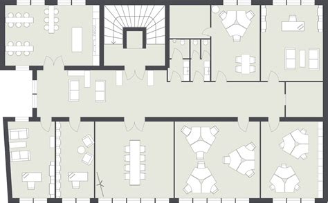 floor plan of an office office layout roomsketcher