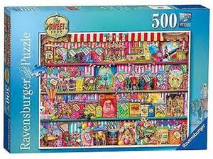 ravensburger the sweet shop jigsaw puzzle 500 piece new
