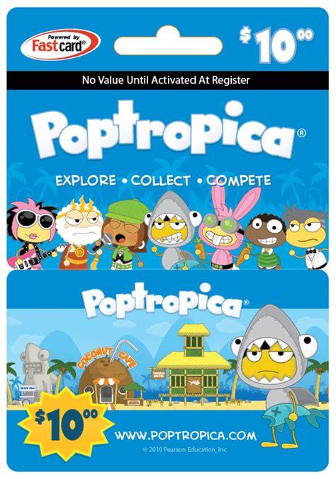 poptropica virtual world for kids launches prepaid game gift cards - Poptropica Gift Card