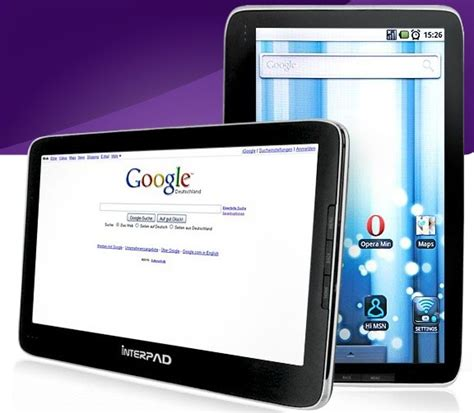 10 inch android tablet interpad s 10 inch tegra 2 toting android tablet may make germans merry later this year