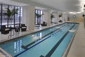 indoor lap pools chicago s aqua tower captures international condominium
