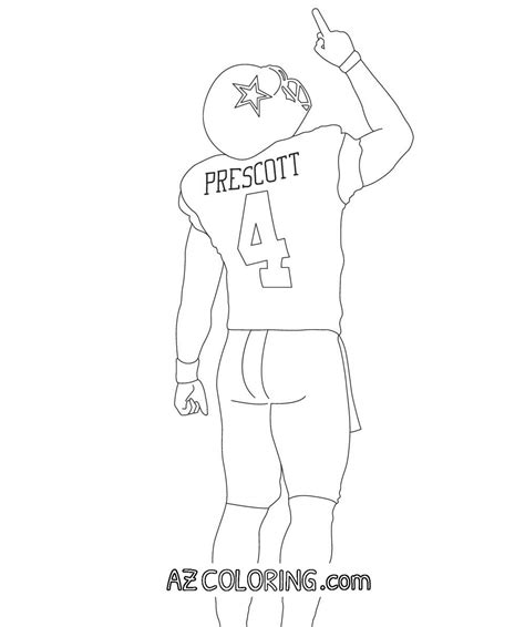 dallas cowboys coloring pages for kids coloring home