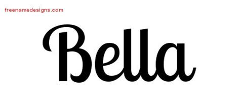 bella archives free name designs