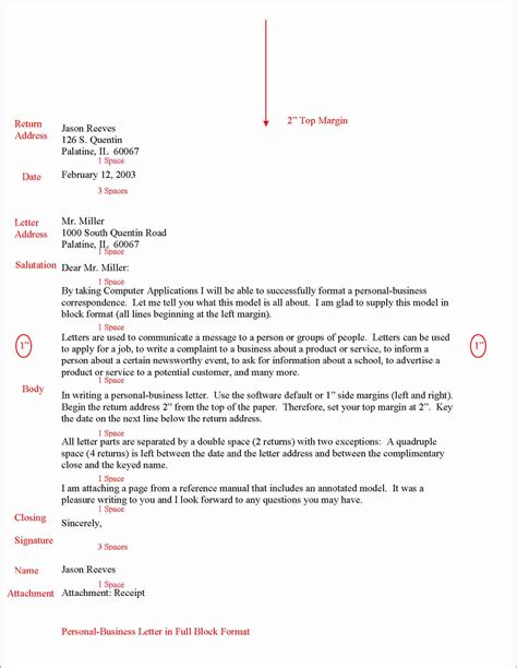 cover letter format and spacing lovely letter format and spacing templates design