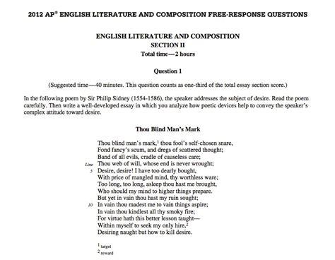 Diction Poem Essay by Dr S Literature Composition 2012 2013 April 2013