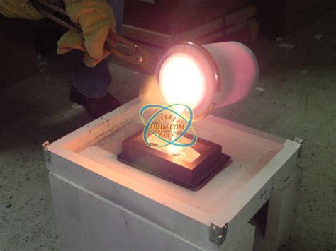 induction melting silver united induction heating machine