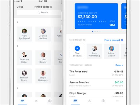 app home screen design inspiration banking app home screen by ivan bjelajac dribbble