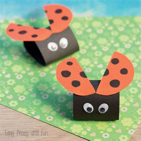 craft for simple ladybug paper craft easy peasy and