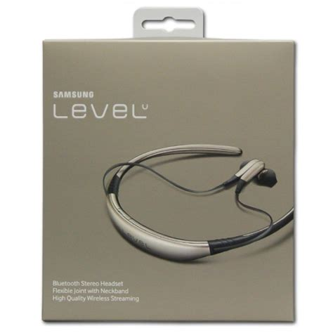 samsung level u bluetooth stereo headset gold qmr shop