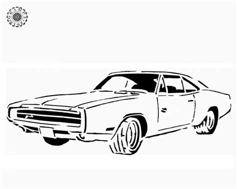 Dodge Charger Para Colorir Coloriage 224 Imprimer V 233 Hicules Voiture Dodge Num 233 Ro