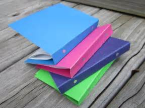 How To Make A Paper Folder For School - american goes to school theroommom