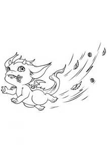 coloriage elves le dragon farceur coloriage elves