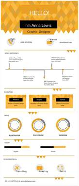 infographic resume templates the recruiters will