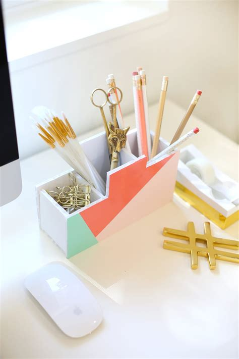 diy desk organizers diy back to school desk organizer lovely indeed