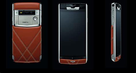 bentley phone quot vertu for bentley quot smartphone costs just 17 100