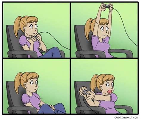 Girls Playing Video Games Meme - chica jugando a un videojuego