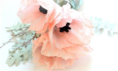 paper anemone flower tutorial crepe paper anemones allfreepapercrafts com