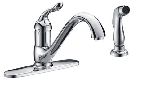 Tuscany Faucets Menards by Tuscany Brooksville Single Handle Kitchen Faucet At Menards 174