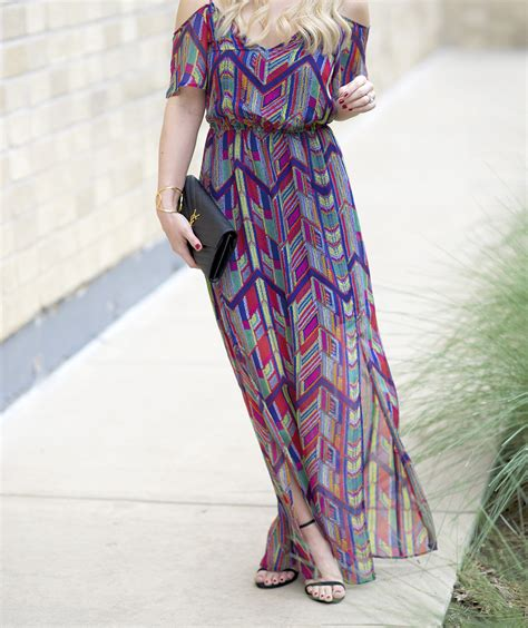 colorful dresses colorful maxi dress