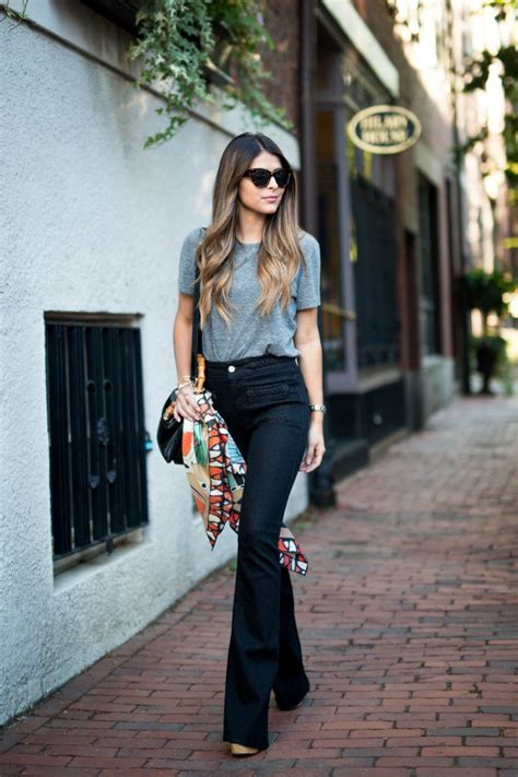 how to wear flare pants flare pants are in style 22 chicest ways to wear flared jeans pretty designs
