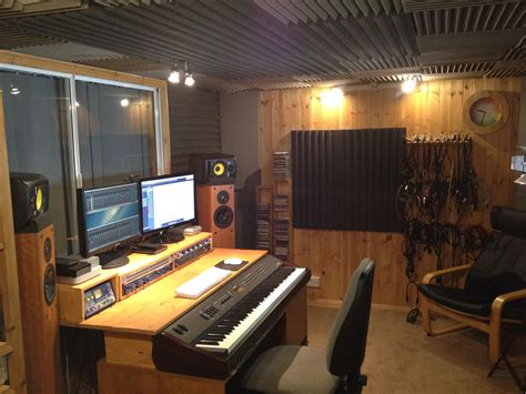 small music studio the ark recording studio in lincolnshire